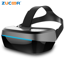All-in-one 3D VR Glasses Box Virtual Reality Glasses Google Cardboard Bluetooth WiFI Android Video Movie Helmet Support TF Card