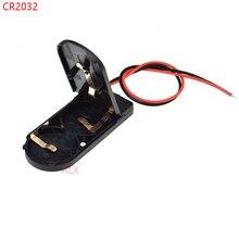 5 PCS CR2032 Knoopcelbatterij Socket Holder Case Cover Met AAN/UIT Schakelaar 3 V x2 6 V batterij Opbergdoos