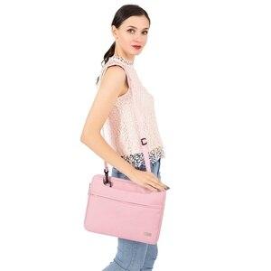 Image 5 - MOSISO Повседневный водонепроницаемый полиэстер портфель для ноутбука 13 14 15 дюймов сумка с ремешком для ноутбука сумка для ноутбука чехол для женщин и мужчин