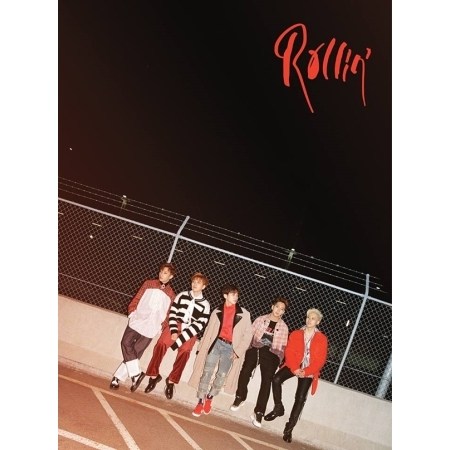 B1A4 7th Mini Album - ROLLIN - Random Cover -   Release Date  2017.09.28 lexington studios 24018g its a girl mini album