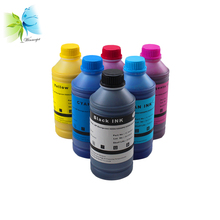 500 ml*6 Colors Refill Dye Ink for hp Designjet 5000 5500 5000pc 5000ps 5500pc Printer for hp 83 680 ml remanufactured ink cartridge for hp designjet 5500 5500ps 5000 5000ps uv printer 100% match with oem