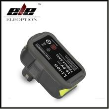 Eleoption 18V 4000mAh Li-Ion For Ryobi P108 RB18L40 High Capacity Rechargeable Battery Pack Power Tool Battery Ryobi ONE+