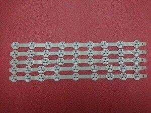 """Image 1 - (Nieuwe Kit) Led Backlight Strip 40 """"Ndv REV1.0 Abc Voor 39PF3025D 40L1333DB P40LED13 VES390UNDC 01 VES400UNDC 01 VES400UNDS 02 03"""