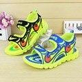 2016 Nueva Llegada Fresca Del Verano Muchachos de Las Muchachas Lindas Sandalias de los Niños Zapatos de Niños zapatos de Bebé de Cuero en general Envío Gratis