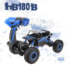 Lynrc RC Car 4WD Rock Crawlers HB180B 4×4  Bigfoot Double Motors Off-Road vehicle use AA battery