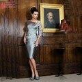 Mother Of The Brides Dress Knee-Length groom mother dresses 2016 vestido de madrinha  party evening elegant for weddingZ062