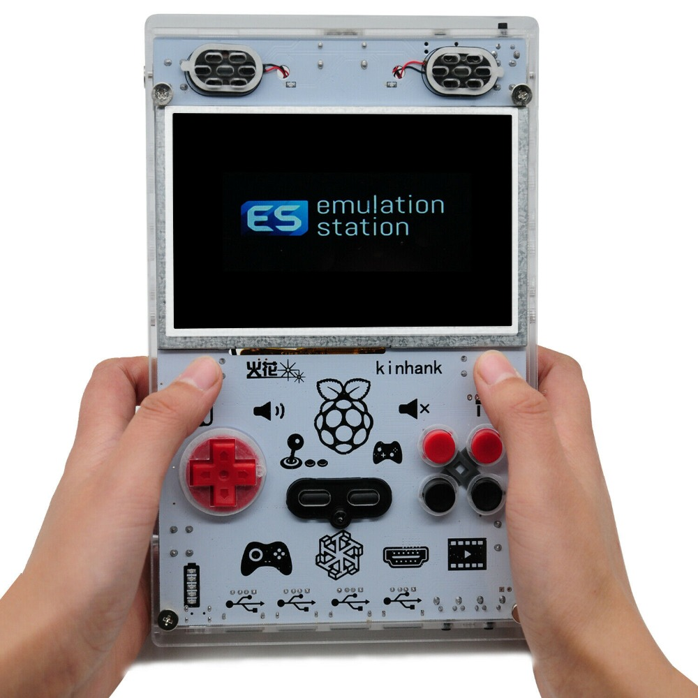 New 5 Inch LCD Display Raspberry Pi RetroPie Console Game Gaming Video Console 10000+ Games
