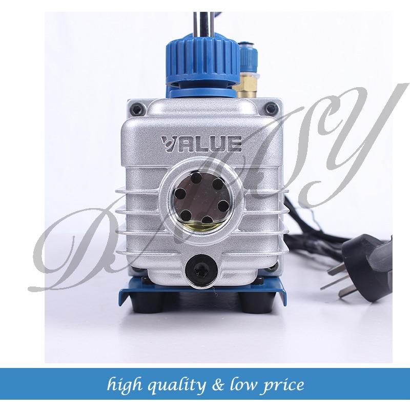 1.5L 3CFM 1-Stage AC Refrigerant Air Conditioner Vacuum Pump High Efficiency