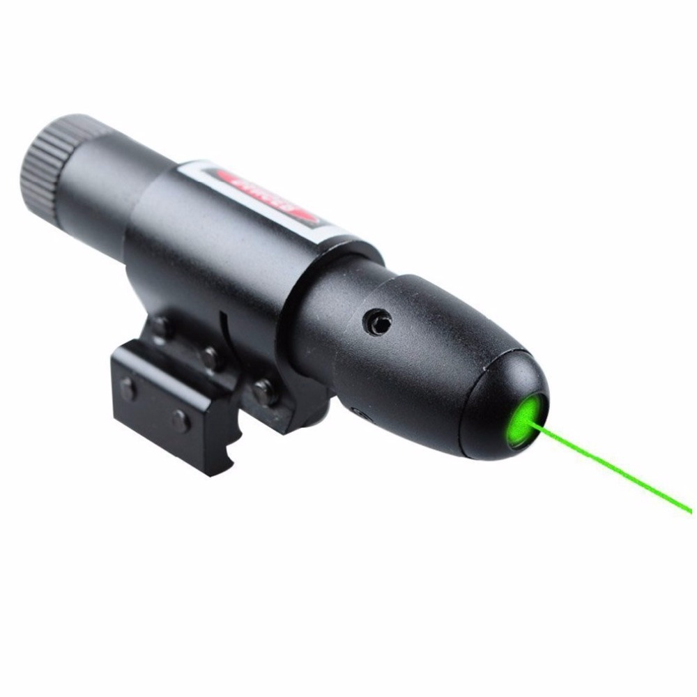 Spike JG13 High Powerful bullet tactical green laser sight scope With Pointer Switch For Hunting sniper gun Accessories
