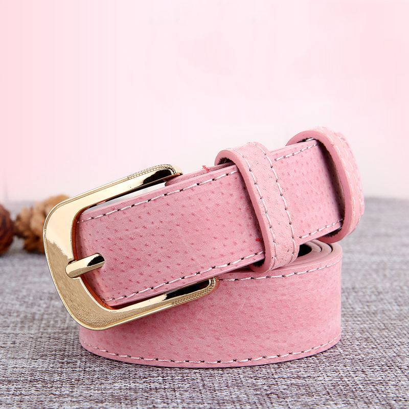 Women Fall Winter   Belt   New Fashion Trendy Girls Decorative Accessories Faux Leather Metal Buckle Straps Waistband High Quality