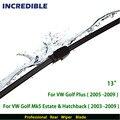 """Limpiaparabrisas trasero para volkswagen golf plus (2005-2009)/Golf Mk5 Bienes y Hatchback (2003-2009) 13 """"RB710"""