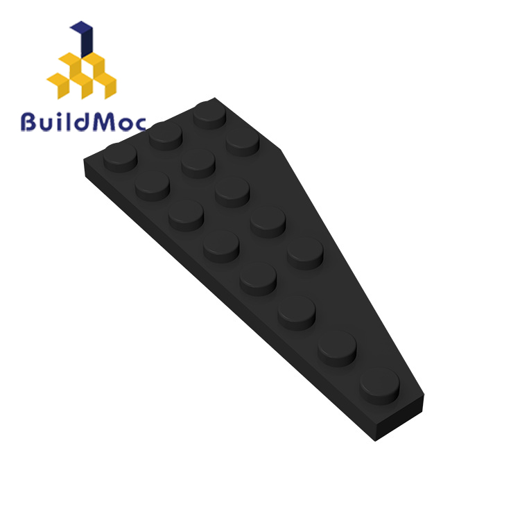 BuildMOC Compatible Assembles Particles 50305 3x8(Left) For Building Blocks Parts DIY LOGO Educational Tech Parts Toys