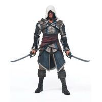Assassins Creed 4 Black Flag Hidden Blade Game Figurine PVC Action Figure Collectible Model Toys For