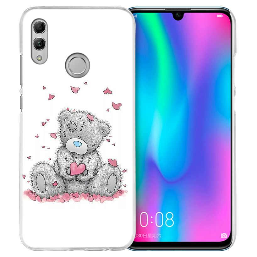 Bông Tôi Để Bạn Gấu Trường Hợp đối với Huawei Honor 8X Y9 9 10 Lite Chơi 7C 8C 8 S 8A 7 S 7A Pro V20 20i Y6 Y7 Y5 2019 Cứng PC Điện Thoại Bìa