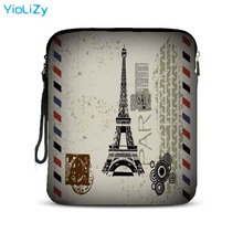 Eiffel Tower 9.7 10.1 inch tablet bag laptop Protective case bag notebook sleeve Case Cover for Samsung Galaxy Tab IP-24560 eiffel tower pattern plastic back case for samsung i9500 light green