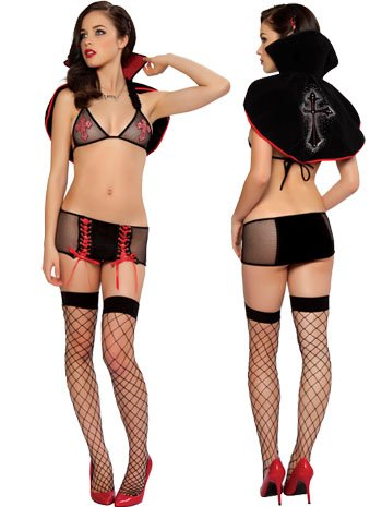 Halloween costume lingerie