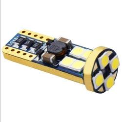 T10 W5W 12 SMD 3030 LED feu de gabarit de voiture lampe de marqueur WY5W 12SMD LED CANBUS sans erreur