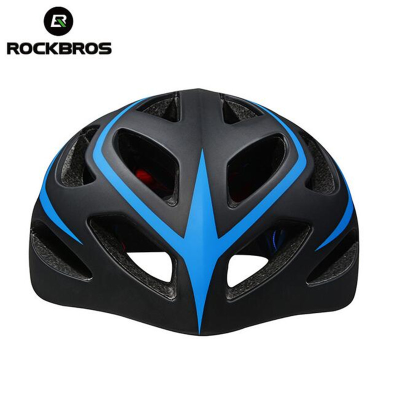 Rockbros Bicycle Helmet Ultralight Triathlon Cycling Safety Helmet MTB Mountain Road Outdoor Sport Bike Helmet Casco Ciclismo mtb bicycle helmet safety adult mountain road bike helmets casco ciclismo man women cycling helmet 1x helmet and 1xgoggles