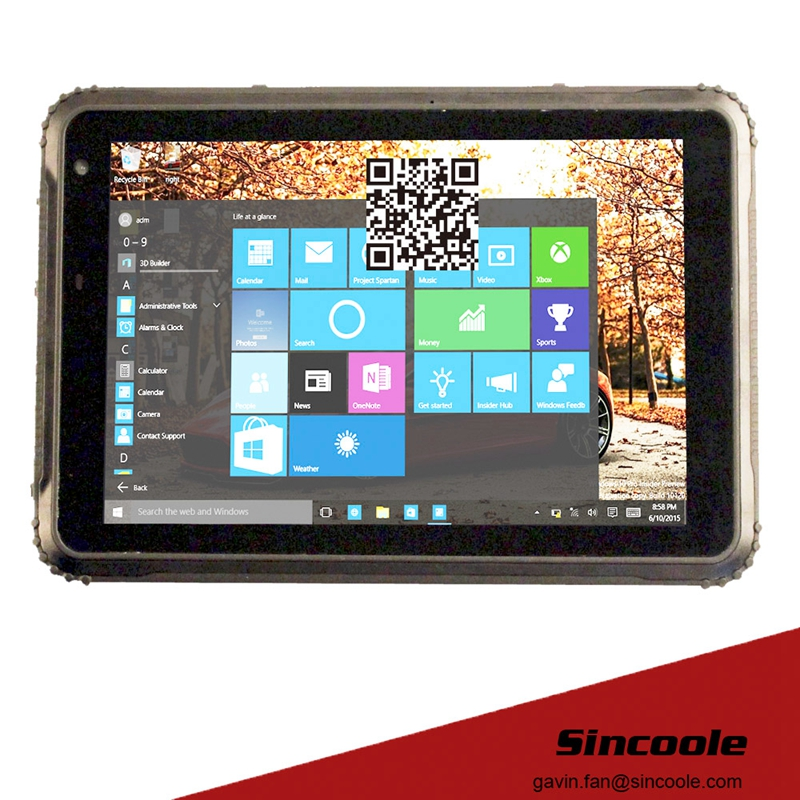 8 Inch USB 3.0  Rugged Industrial Tablets Pc