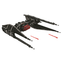 Bela 10907 Star Wars Series Kylo Ren's TIE Fighter Building Block 400pcs Bricks Toys Compatible With Legoings toys for children