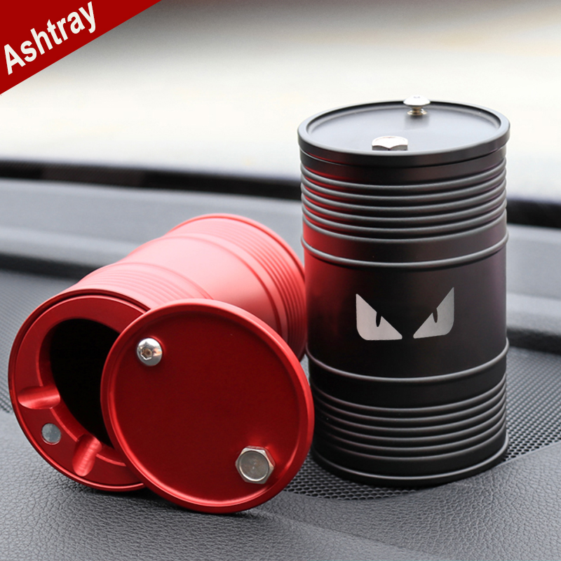 Car Ashtray Portable Smokeless Can Vehicle Cigarette Holder Anti-slip Rubber Smoke Universal Cylinder Holder Car Styling for BMWCar Ashtray Portable Smokeless Can Vehicle Cigarette Holder Anti-slip Rubber Smoke Universal Cylinder Holder Car Styling for BMW