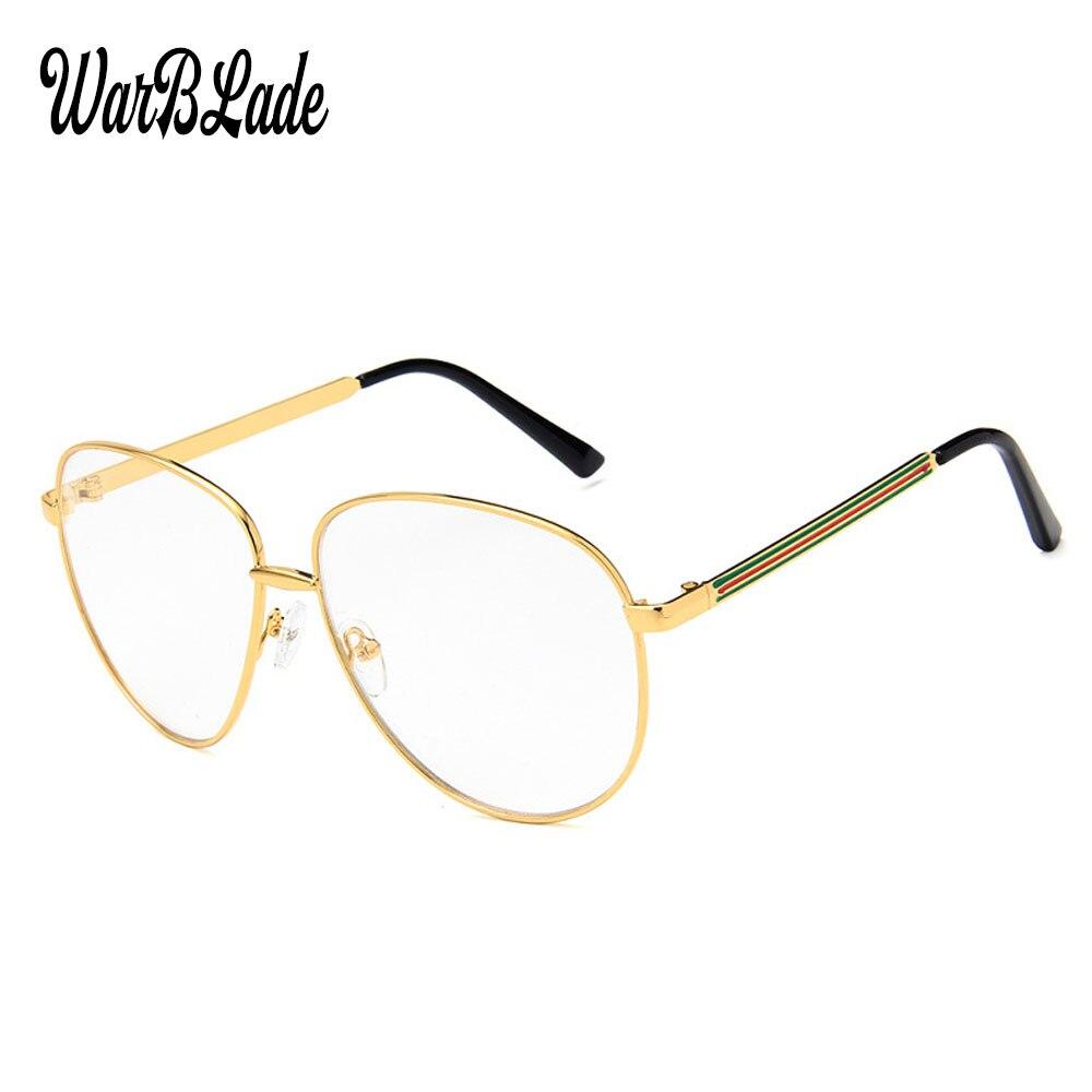 2018 Damen Klare Gläser Gold Mode Rahmen Brillen Frauen Transparent Rahmen Für Brillen Spezielle Designer Spirale Auge Gläser SchöN In Farbe