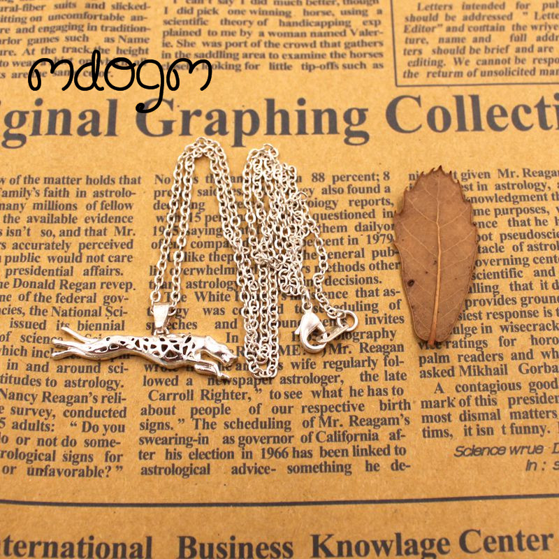 2018 Greyhound Teddy Necklace Dog Animal Pendant Gold Silver Plated Jewelry For Women Male Female Girls Ladies Kids Boys N133