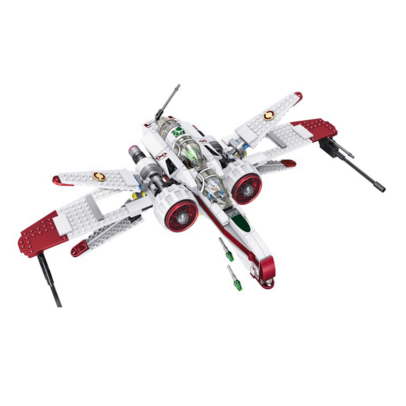 35004 Star Space Battle Captain Jag Clone Pilot R4-P44 ARC-170 Fighter Assembled Toys Building Block Toy Compatible With Legoed
