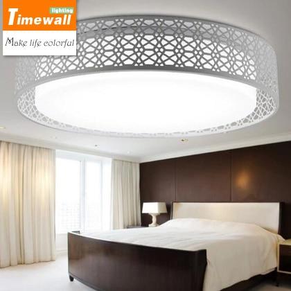 Circulaire nest plafond lampen LED moderne minimalistische woonkamer ...