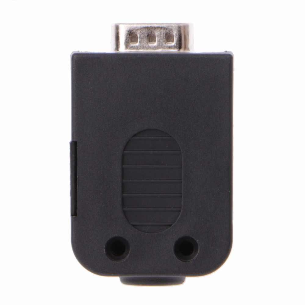 オスコネクタ DB9 男性 RS232 シリアルコネクタブレークアウト基板ネジ端子ジャックポスト