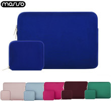MOSISO 11,6 12 13 13,3 14 15,6 funda impermeable para portátil para Macbook Pro/Air/Asus/ funda para ordenador portátil de neopreno(China)