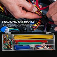 140pcs Solderless Breadboard Jumper Cable U Shape Solderless Breadboard Jumper Cable Wire Kit for DIY Shield Breadboard Cable