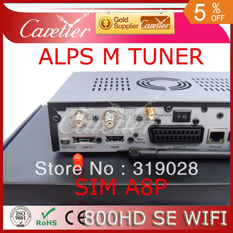 Prix pour DM800 HD SOI satellite TV récepteur soutien 300 M wifi sim a8p ALPES 801A M tuner dm800hd soi wifi set top box 800SE 1