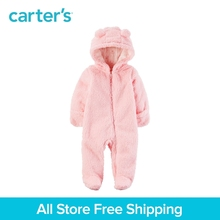 Carter s 1 Piece baby children kids clothing Girl Hooded Sherpa Bunting 127G736