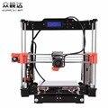 3D - принтер RepRap Prusa i3 комплекта модернизированных p802n p802na накала, выбираемые DIY 8 гб SD Card 3D - принтер подарок жк - свободный корабль