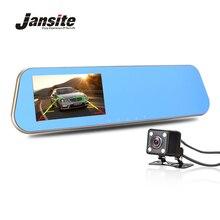 Cámara de Visión nocturna Coche Dvr Coche Espejo Retrovisor de Vídeo Digital Grabadora Registrator Videocámara Full HD 1080 P Dvr Dash Auto Cam