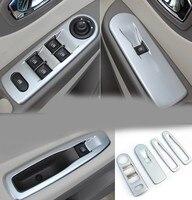 Matte ABS Windows nt decoration sequins Car Accessories For Renault Clio IV 2013 2015 5door Hatchback