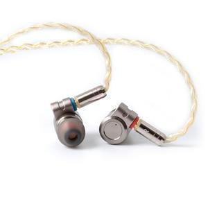Image 3 - سماعات أذن معدنية HIFI T3 Knowles BA ، مشغل ديناميكي هجين ، سماعات أذن بكابل MMCX قابل للفصل من القصدير ، T2