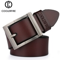 2017 High Quality Male New Brand Cow Genuine Leather Belts For Men Fashion Designer Luxury