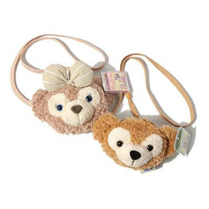 Kawaii Japan Anime Duffy Bear Shelliemay Rose Plush Bag Soft Teddy Bears Toys Wallet Satchel Bag Stuffed Doll For Girls Gifts цена