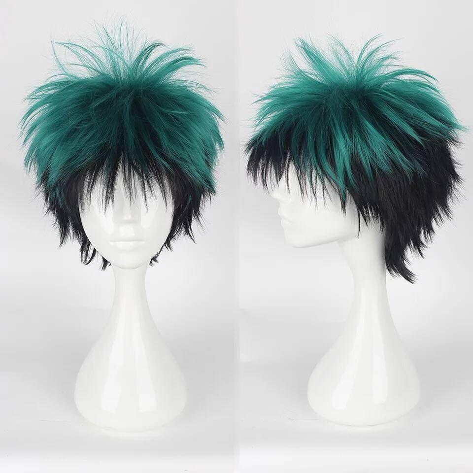 My Hero Academia Deku Cosplay Wig Izuku Midoriya Wig Boku No Hero Academia Cosplay Hair Izuku Midoriya Deku Wigs Synthetic Hair