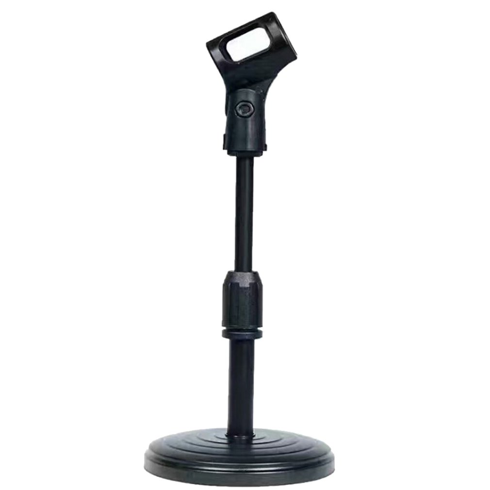 Microphone stand detachable metal handle bracket Desk Microphone Stand Arm Round Base Short Clip Holder-Table Mic BracketMicrophone stand detachable metal handle bracket Desk Microphone Stand Arm Round Base Short Clip Holder-Table Mic Bracket