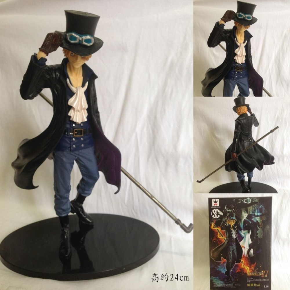 Hot BANPRESTO The Grand line Men Japan Anime One Piece Sabo Action Figure One piece one-piece PVC Figures Figuras Collectible  цены