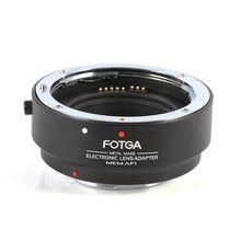 Переходное кольцо для объективов FOTGA электронный, для AF Auto регулятор резкости для цифровой однообъективной зеркальной камеры Canon EOS EF-S объектив EF-M M3 Камера