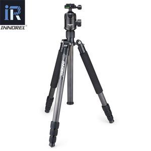 Image 2 - RT70C Carbon Fiber tripod monopod for professional digital dslr camera telephoto lens heavy duty stand tripode Max Height 175cm