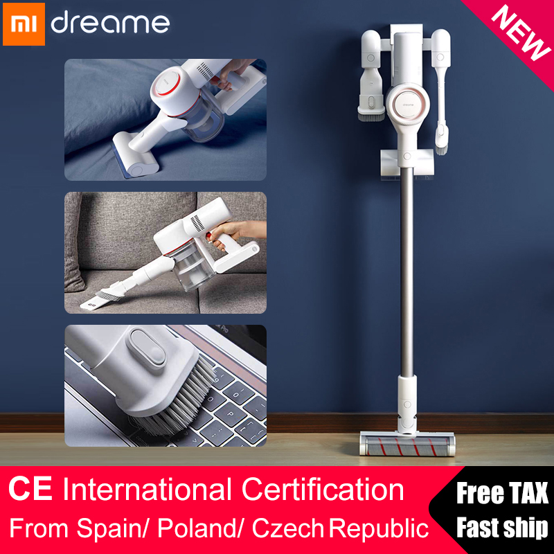 xiaomi dreame v9 handheld cordless vacuum cleaner protable wireless cyclone filter strong. Black Bedroom Furniture Sets. Home Design Ideas