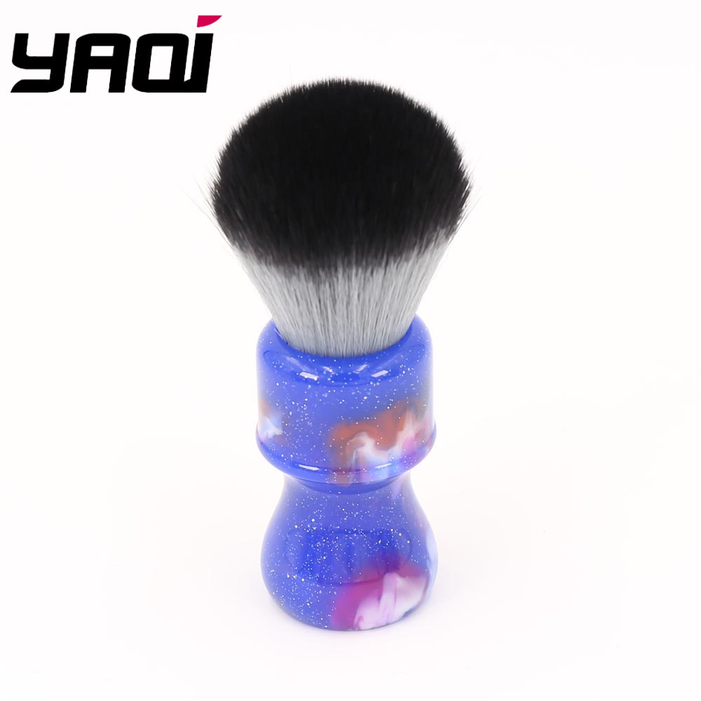 24MM Yaqi Colorful Mysterious Space Color Handle Timber Wolf Knot Men Shaving Brushes
