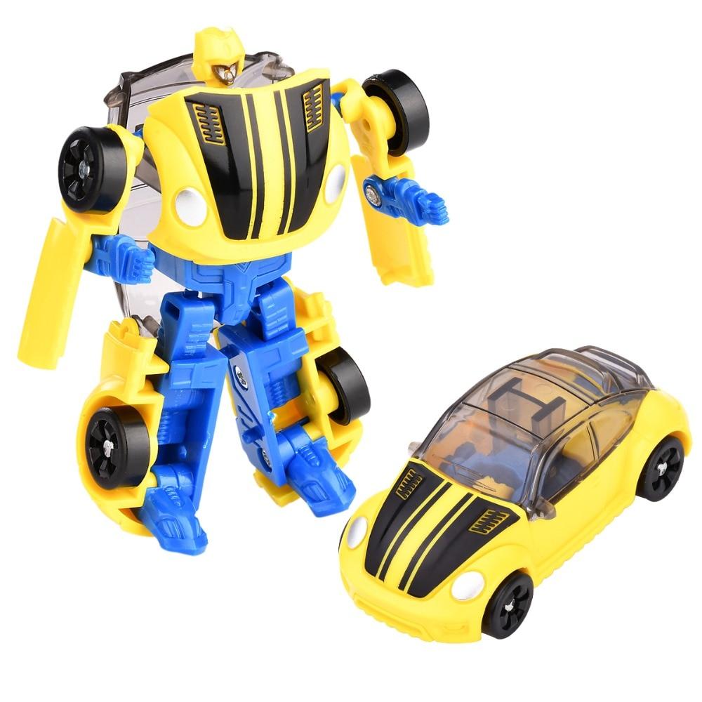 Transforming Robot Toys Children Car Boy 8cm 6-Types Gift Series Kid