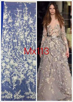 Latest african Z-han62020 lace Embroidered Tulle Fabric,African French Net Lace Fabric fabrics fashion dress!