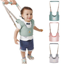 Baby Walker Toddler Harness Assistant Backpack Leash Kids Walking Learning Belt Breathable Cotton Fabric Child Safety Reins(China)
